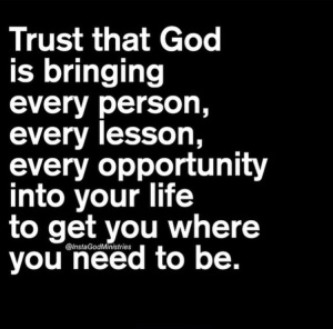 Always trust in the Lord!