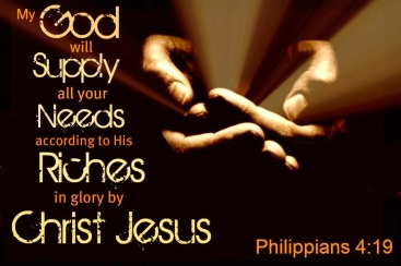Jesus Will Supply All Things